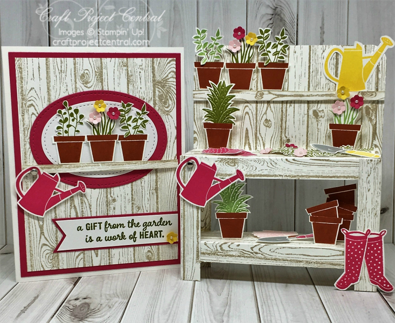 Garden Workbench & Card