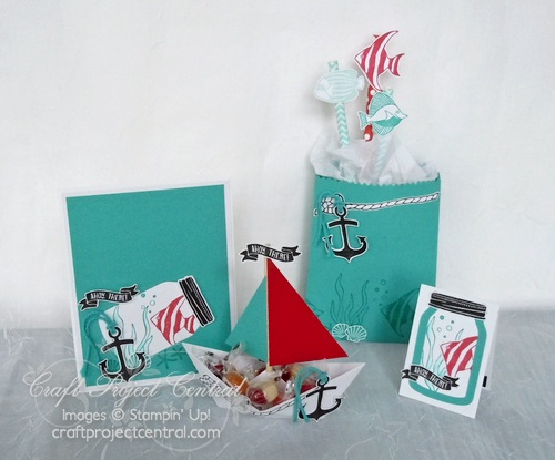 Ahoy There Birthday Party Pack